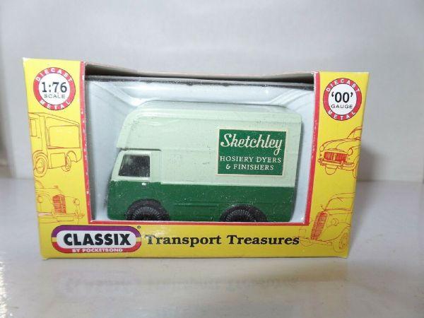 Classix EM76673 1/76 OO Scale NCB Electric High Top Van Sketchley Dry Cleaners
